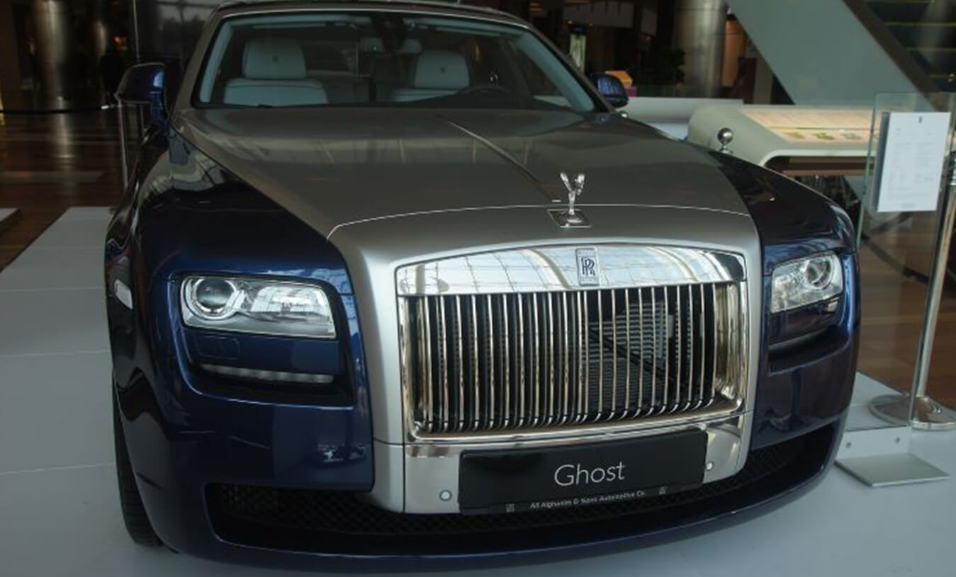 Rolls Royce Ghost - pre-owned car dealership - PCH Auto World
