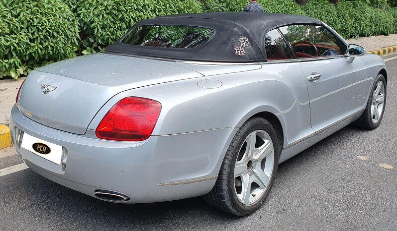 Bentley Continental GTC full